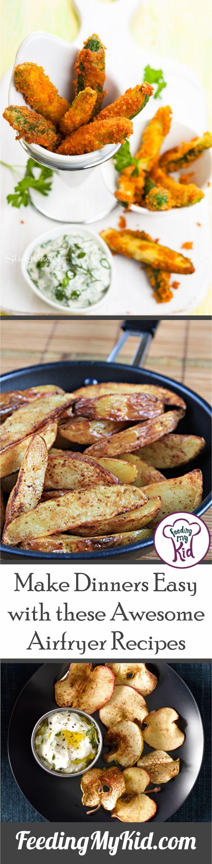 These awesome airfryer recipes are super simple and easy. You'll get that great crispy crunch without all the fat and oil.