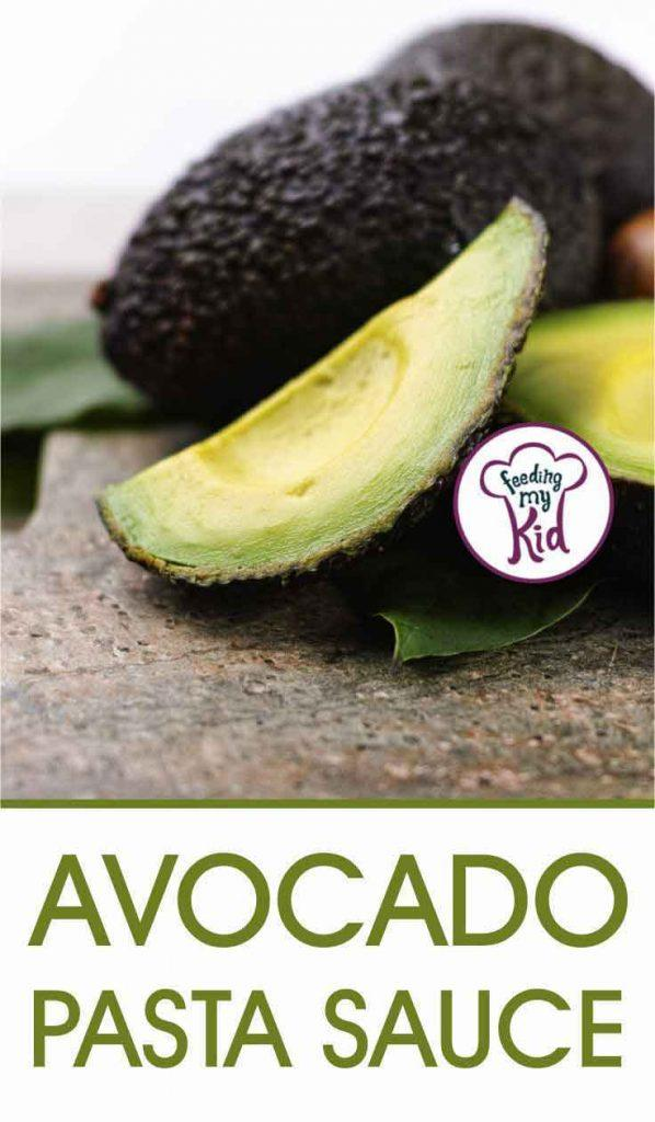 I made this avocado pasta sauce as a healthier alternative to classic pesto. Avocados are loaded with healthy fats and create a creamy sauce.