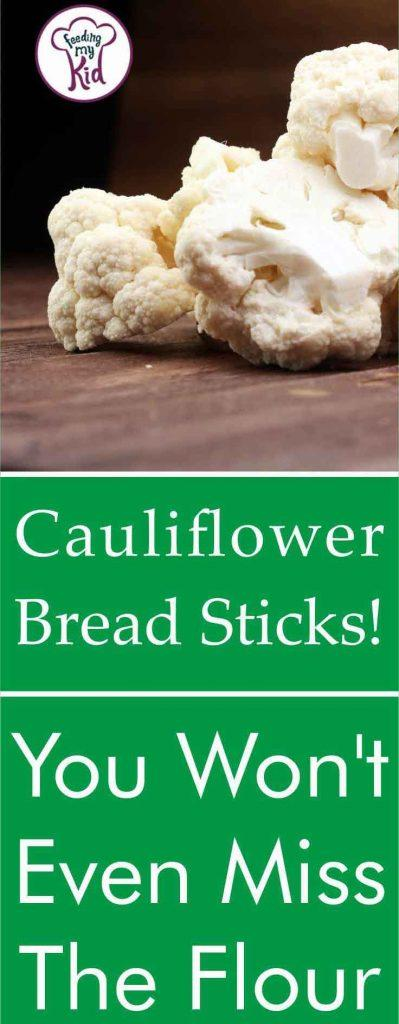 Using cauliflower to make pizza dough and cauliflower breadsticks is a great low-carb and gluten-free idea! Use this same recipe for your pizza crust.