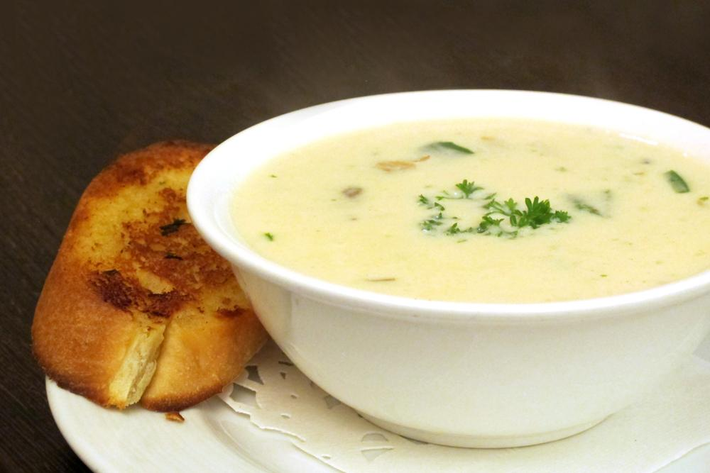 This clam chowder recipe is simply delicious! You can make this in a huge batch and freeze for later. Forget takeout, you'll love this!