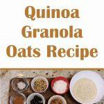 This healthy granola recipe has a ton of fiber, no preservatives, and you can likely find all of these ingredients in your pantry.