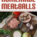 These homemade meatballs are a great recipe if you're looking to get your family to eat more veggies. Try this recipe for dinner tonight!