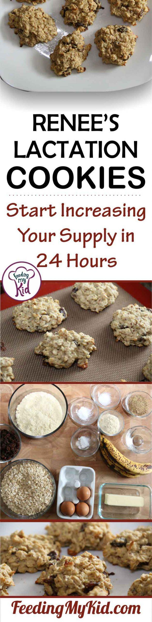 I recently came up with healthier lactation cookies recipe, while not as delicious as their counterparts, they are a lot healthier for you and your baby!