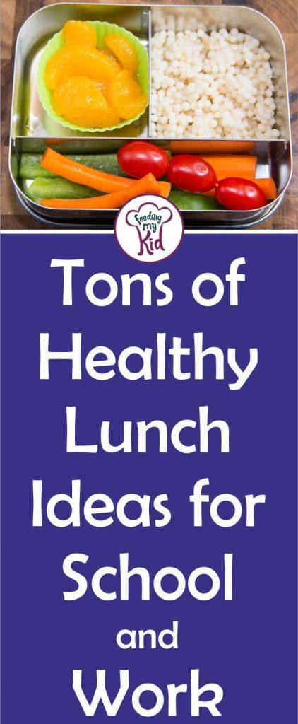You can give your kids so many different options for lunch. This list of healthy and easy lunch ideas for kids will keep them full all day.