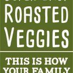 roasted vegetables short