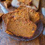 Cinnamon And Spice Sweet Potato Bread
