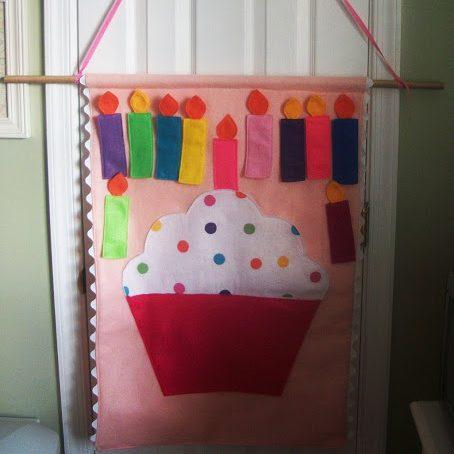 Pin The Candle On The Cupcake