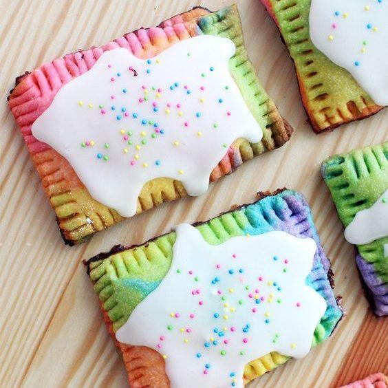 Rainbow Pop-Tarts