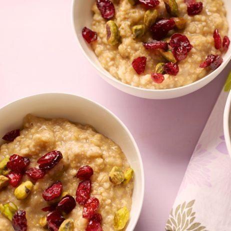 Slow-Cooker Whole-Grain Breakfast Porridge