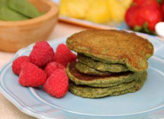 Spinach Pancakes Healthy Breakfast Recipe