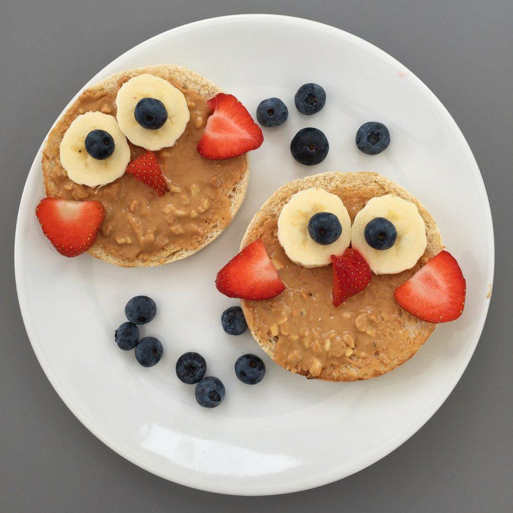 Wise Owl Fruity Toast