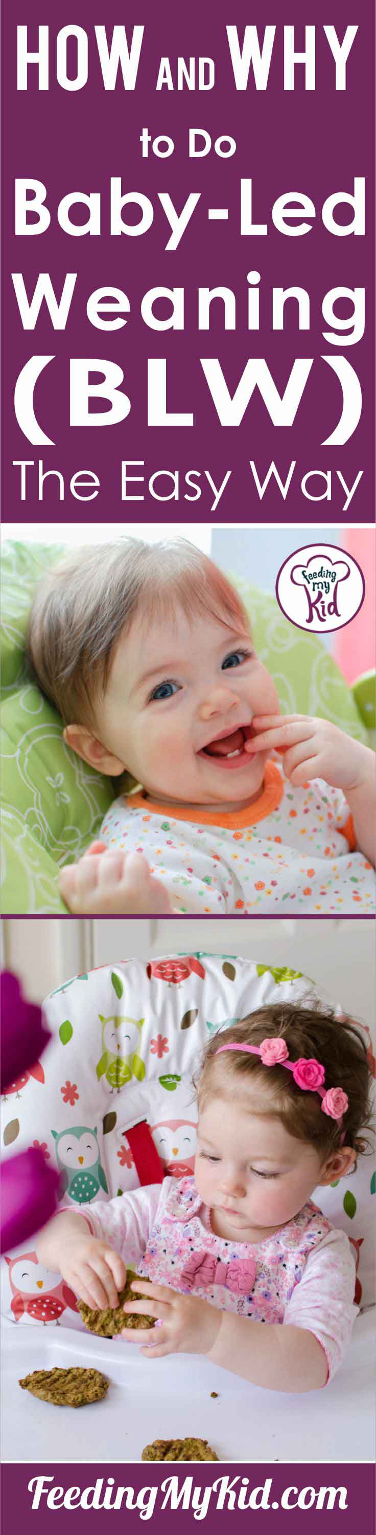 Baby led weaning is a great tool for many parents. Learn how baby led weaning helped this mom live a healthier and stress-free life.