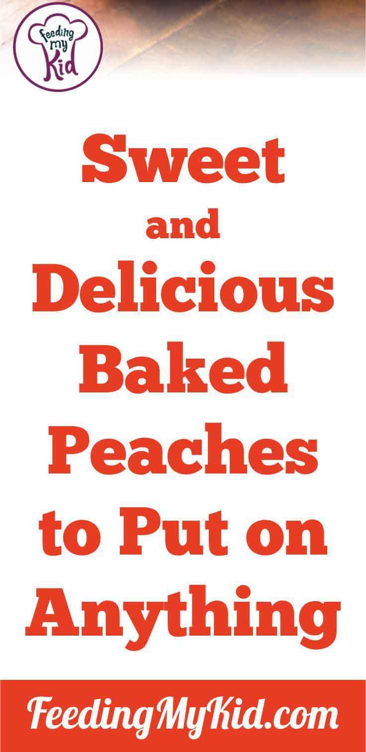 Pancakes, yogurt, and peaches. Breakfast of champions!
