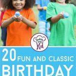 birthday party games short