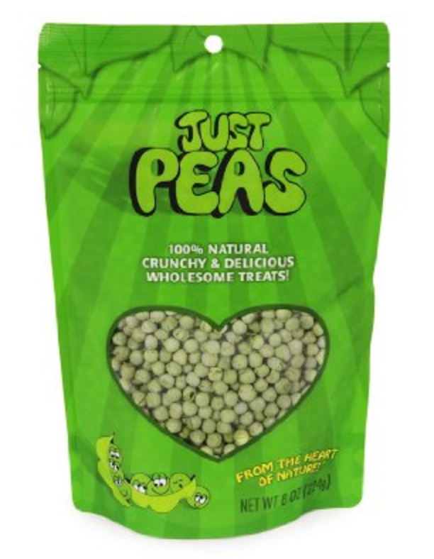 Dehydrated Peas. A great on the go snack!