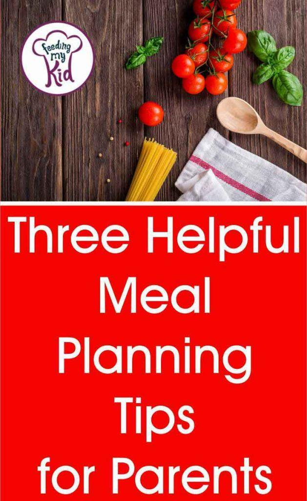 Having a healthy eating plan not only saves money but keeps your family eating nutritious foods. Read these 3 tips on how to create your weekly meal plan.