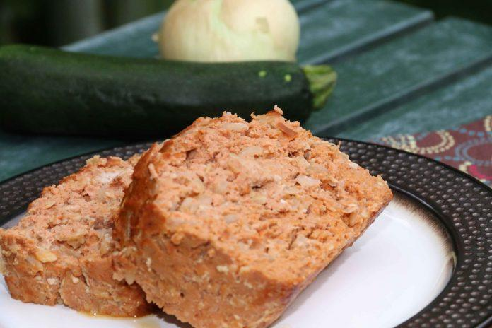 This healthy meatloaf recipe is loaded with zucchini and tasty flavors. You can choose your meat but don't skip the veggies! You'll love this one.
