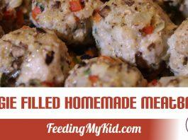 Maria Rivera shows us how to make her veggie filled, homemade meatballs. They're perfect when you want your family to eat more veggies.