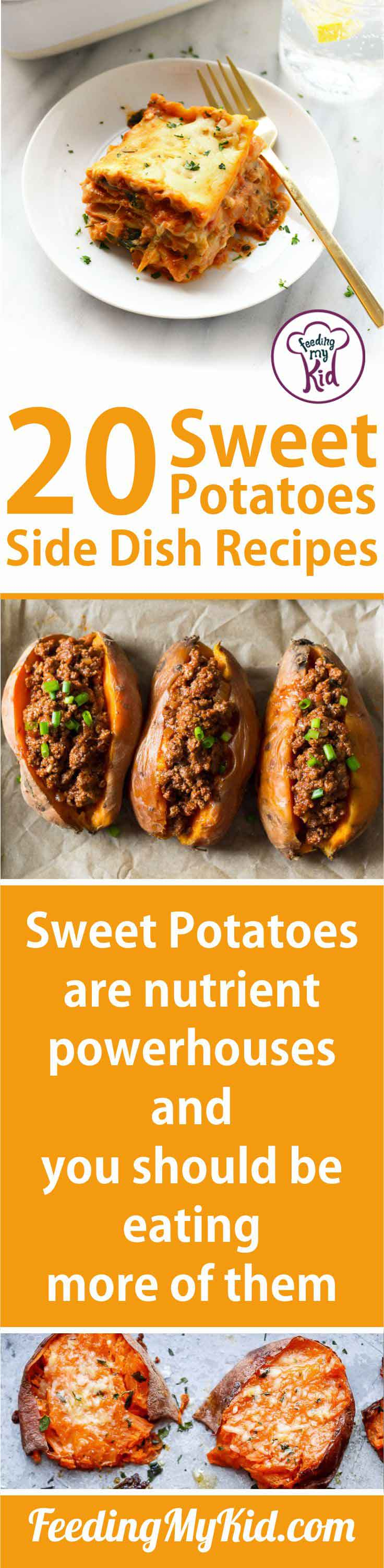 Sweet potatoes are the perfect vitamin-packed, delicious side for any dish. Try one of these sweet potato recipes and fall in love with the sweet potato!