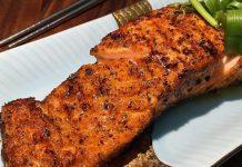 Air Fried Cajun Salmon
