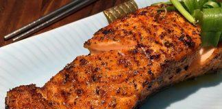 Air Fried Cajun Salmon