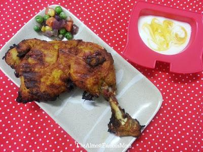 Coconut & Turmeric AirFried Chicken