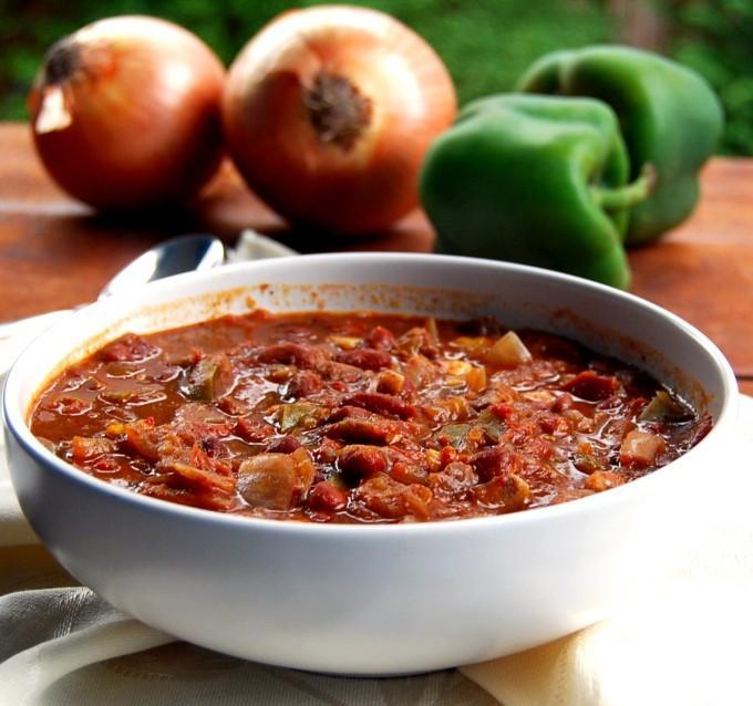 Fat-Free Crock Pot Chili