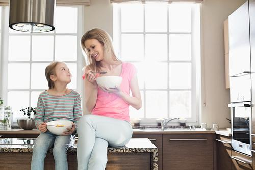 For a quick useful tip, try to choose a cereal that your child will enjoy but that also has 3-5 grams of fiber per serving.