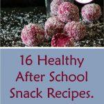 healthy snack recipes short