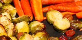 Roasting vegetables brings out their sweet flavor. Roasted vegetables are great with coconut oil and get your family to eat more veggies.