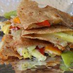You don't need meat to make a great quesadilla! This vegetarian quesadilla is filled with yummy flavors and is perfect for #MeatlessMonday.