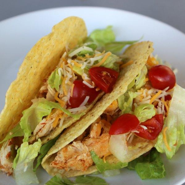 Healthy Chicken Tacos Pressure Cooker