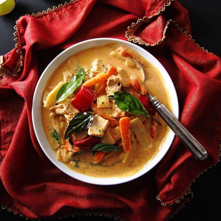Instant Pot Thai Red Curry With Chicken