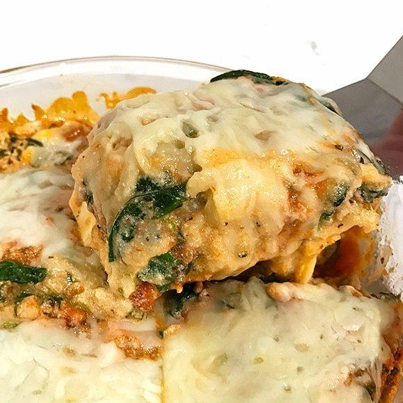 Turkey Spinach Instant Pot Lasagna