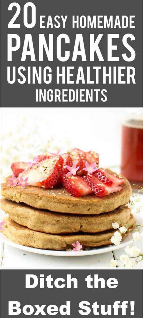 I know buying boxed pancake mix is super tempting but hear me out: homemade pancakes are way better. Check out these easy recipes.