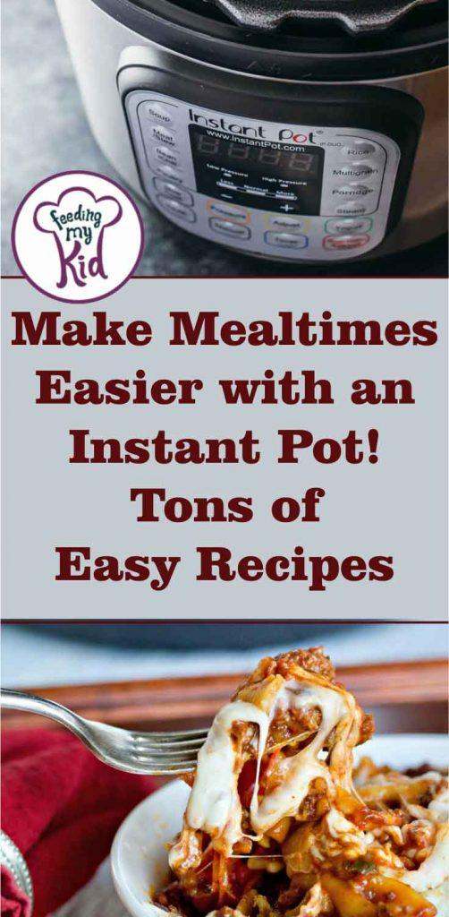 The Instant Pot is the new must-have in the kitchen! Check out these Instant Pot recipes that will help make mealtimes easier.