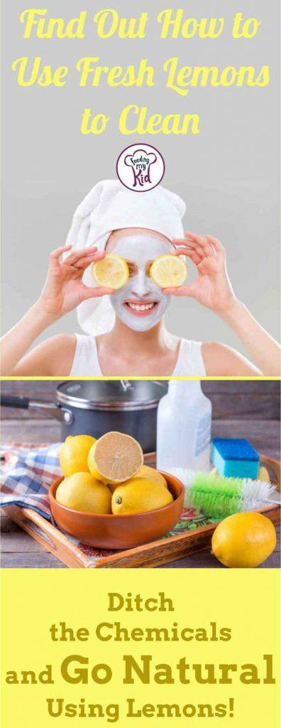 Step outside the cooking scene. Check out these creative lemon uses. Use fresh lemon to highlight your hair, brighten your skin, and more!