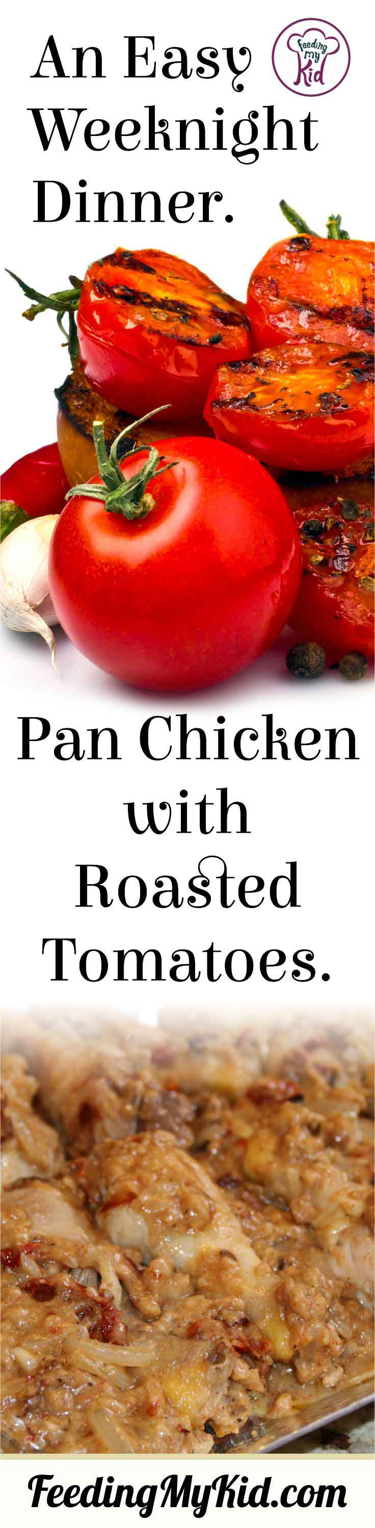 Making this pan cooked chicken is so easy and quick. You'll have a fast and filling meal for your family in 40 minutes! Try this one out.