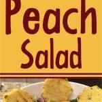 peach salad short