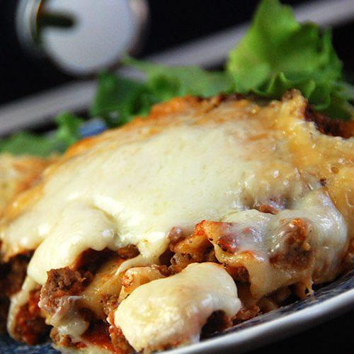 Crock Pot Cheesy Lasagna