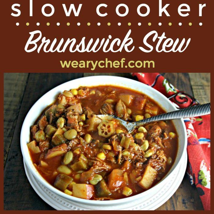Easy Brunswick Stew in the Slow Cooker