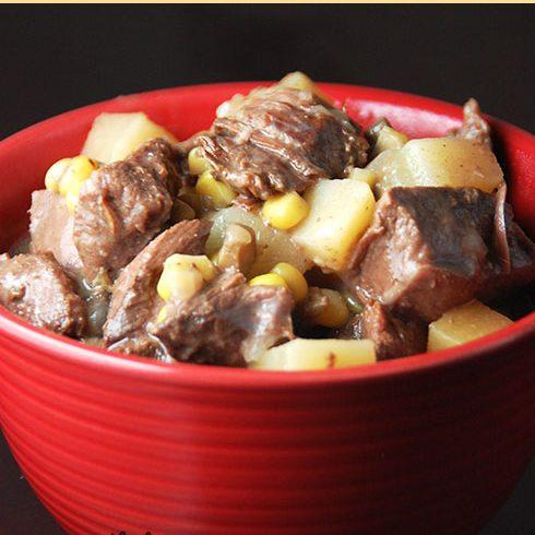 Smothered Crock Pot Beef Tips