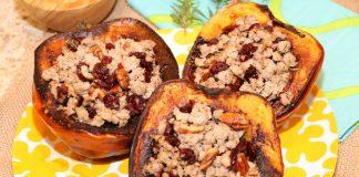 This acorn squash recipe is filled with all the flavors of Fall! A healthy and delicious dinner for any night of the week.