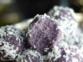 Blueberry Coconut Bliss Balls
