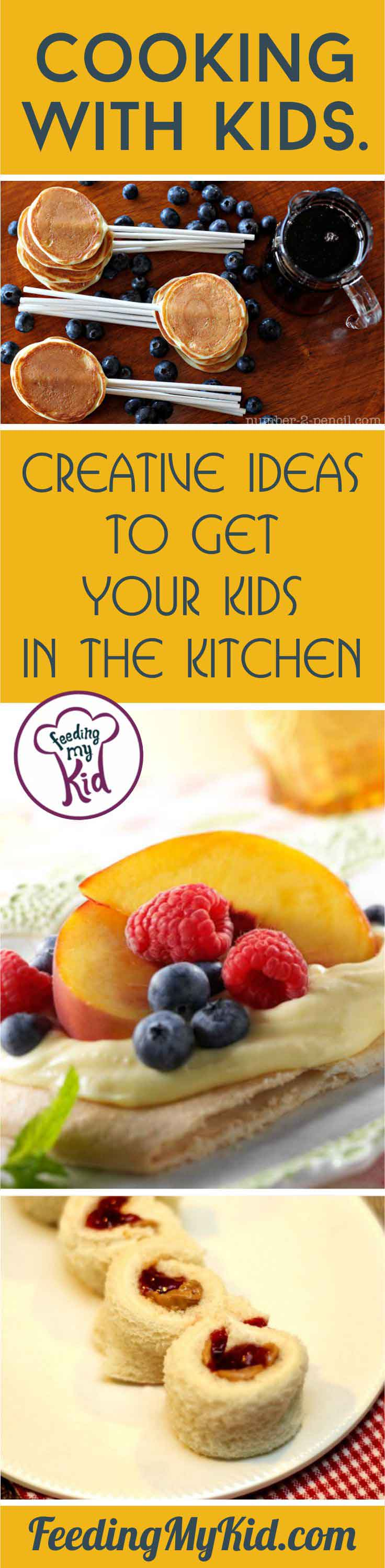 Cooking with kids is a great way to build healthy habits for their future. Check out these fun recipes you and your kids can create together.