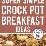 crock pot breakfast short