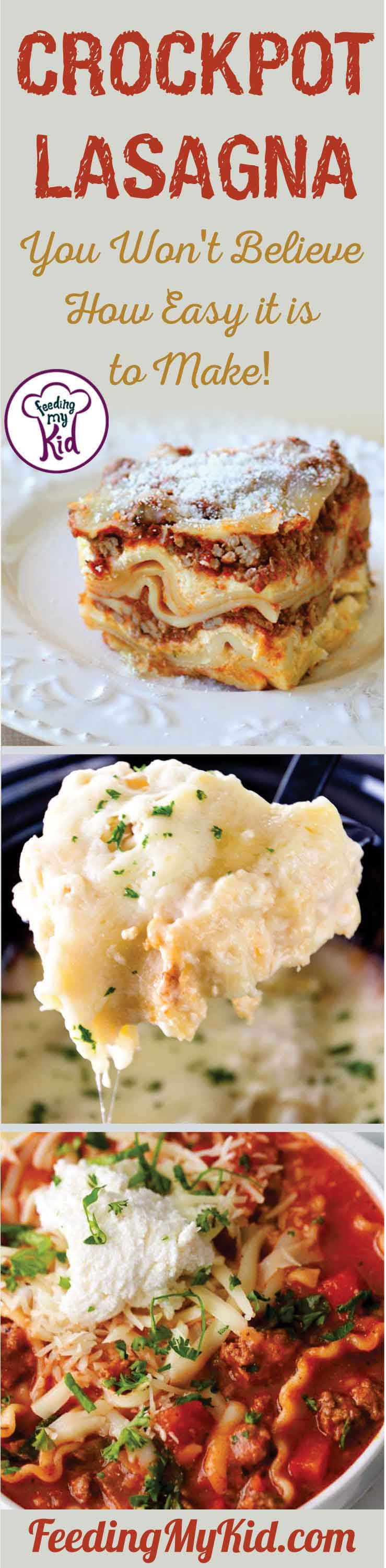 Crockpots are a must have in your kitchen! These crockpot lasagna recipes make this easy dish even easier. From classic to Alfredo, you'll love these.