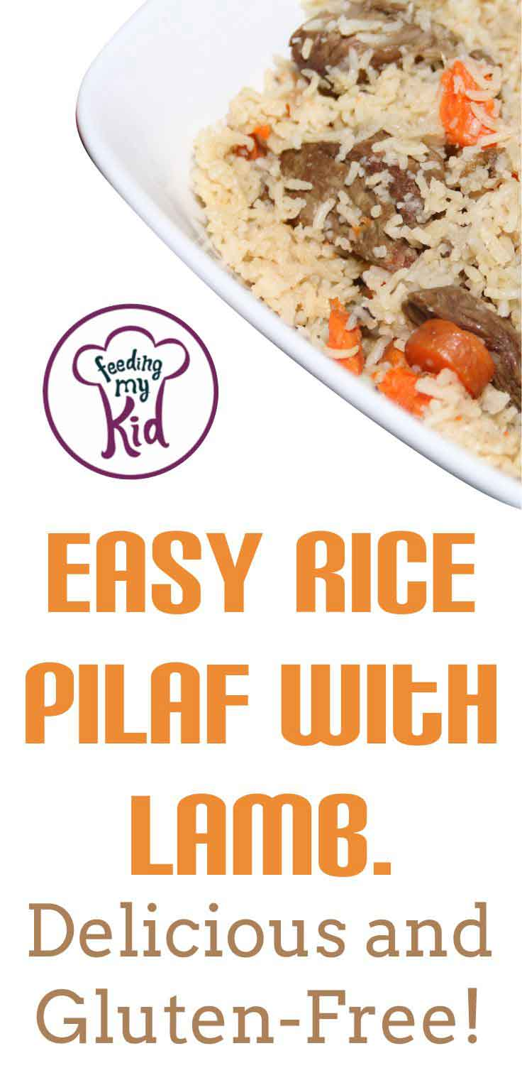 This rice pilaf recipe is to die for! It's also super easy and has tons of great flavors. Try this out next time you have a family dinner.
