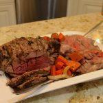 roast leg of lamb