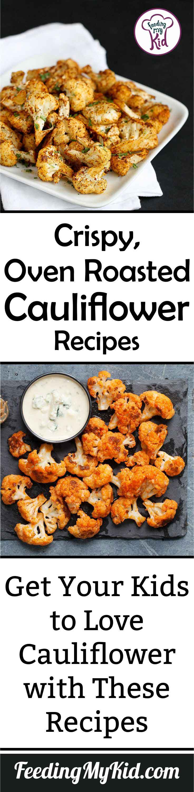If you're not a fan of cauliflower, you've probably only eaten it steamed or raw. You need to try these oven roasted cauliflower recipes ASAP!